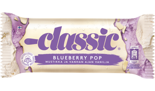 CLASSIC Blueberry Pop puikko 85g/95ml