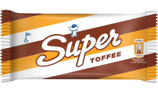 SUPER  Toffee  puikko 67g/100ml